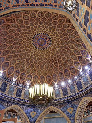 Photograph - Dome Interior by Pema Hou