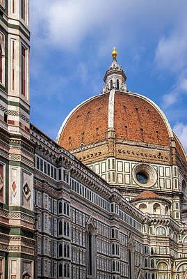 Photograph - Dome Of Florence Cathedral by Carolyn Derstine