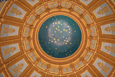 Photograph - Dome Of Michigan Capitol  by John McGraw