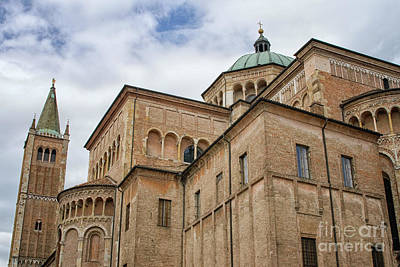 Photograph - Dome Of Parma by Patricia Hofmeester