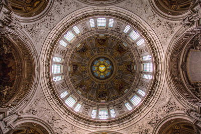 Photograph - Dome Of The Berliner Dom by Ross Henton