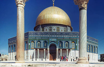Photograph - Dome Of The Rock by Granger