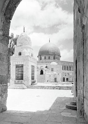 Photograph - Dome Of The Rock In 1934 by Munir Alawi