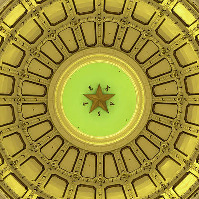 Photograph - Dome Of The Texas State Capitol - Austin by Gregory Ballos