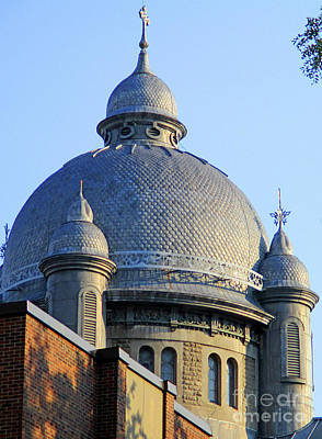 Photograph - Dome On Sainte Catherine 2 by Randall Weidner