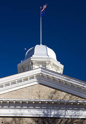 Albert Bierstadt - Dome on the Nevada State Capitol by Jason O Watson