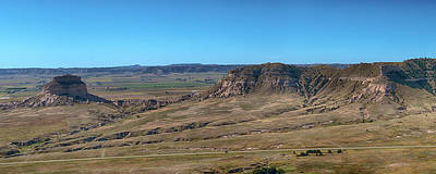 Photograph - Dome Rock Panorama  by Susan Rissi Tregoning