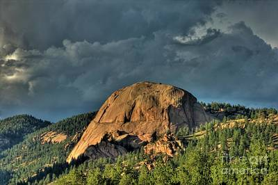 Photograph - Dome Rock by Tony Baca