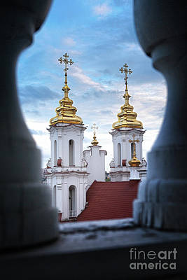 Photograph - Domes #3347 by Andrey Godyaykin