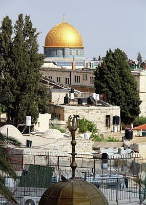 Photograph - Domes In Jerusalem by Munir Alawi