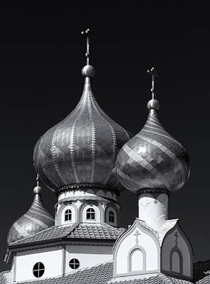 Domes Art Print