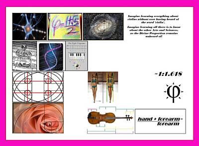 Domestic Violins Art Print