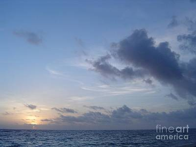 Painting - Domican Sunrise by Mary Erbert