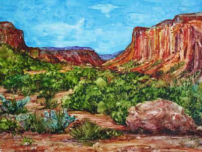 Dominguez Canyon Art Print