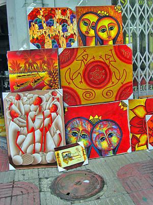 Dominican Art. Original by Andy Za