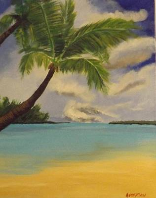 Painting - Dominican Beach by Pamela Anderson