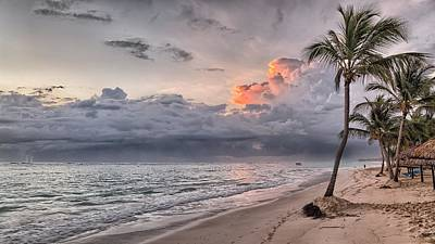 Photograph - Dominican Republic Beach Landscape  by Joy of Life Art Gallery
