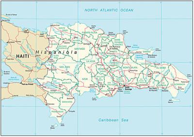 Republic Mixed Media - Dominican Republic by Roy Pedersen