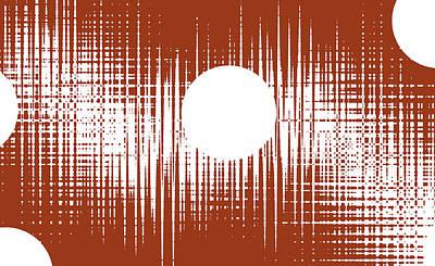 Abstract Seascape Mixed Media - Domino Awarenes Intocinny by Sir Josef - Social Critic -  Maha Art