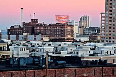 Photograph - Domino Sugar Baltimore by Frozen in Time Fine Art Photography