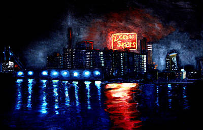 Domino Sugars Art Print by Brian Vogt