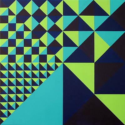 Domino Theory Art Print