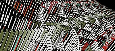 Dominos Art Print by David BERNARD
