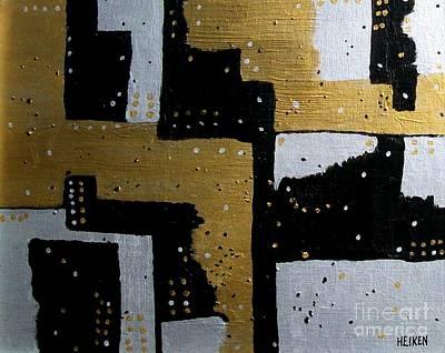 Dominos Art Print by Marsha Heiken