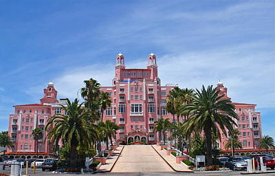 Photograph - Don Cesar Hotel by Denise Mazzocco