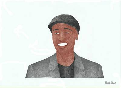 Don Cheadle Art Print