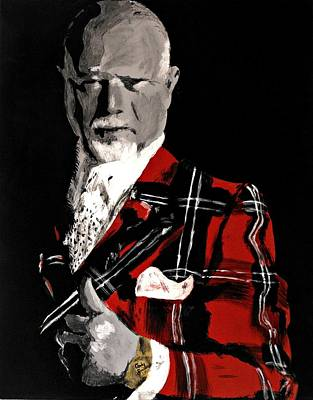 Don Cherry Painting - Don Cherry by Carly Jaye Smith