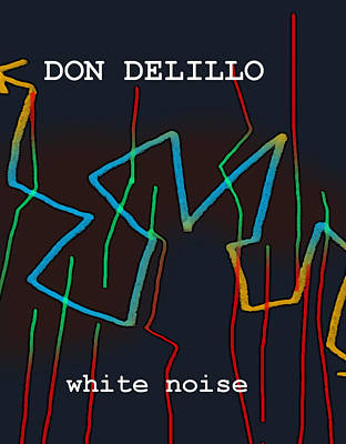 Famous Book Mixed Media - Don Delillo Poster  by Paul Sutcliffe
