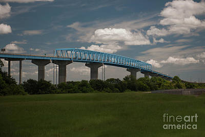 Photograph - Don Holt Three Span Continous Bridge  by Dale Powell