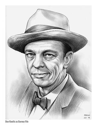 Don Knotts Original by Greg Joens