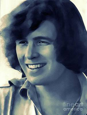 Rock And Roll Royalty-Free and Rights-Managed Images - Don McLean, Music Legend by Mary Bassett