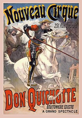 Digital Art - Don Quichotte by Gary Grayson