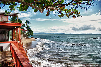 Don Quijote Bed And Breakfast Rincon Puerto Rico Art Print