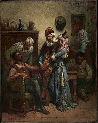 Don Quixote And Sancho Panza Entertained By Basil And Quiteria Original by Gustave Dor