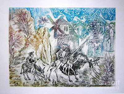 Don Quixote And Sancho Panza Original