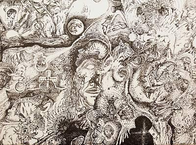Don Quixote Art Print by Charles Kabrich