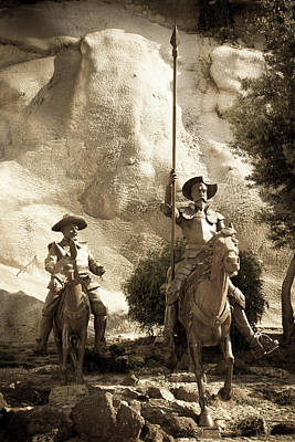 Photograph - Don Quixote Of La Mancha by Tatiana Travelways