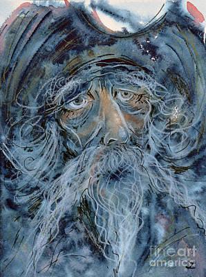 Painting - Don Quixote. The Great Dreamer by Zaira Dzhaubaeva