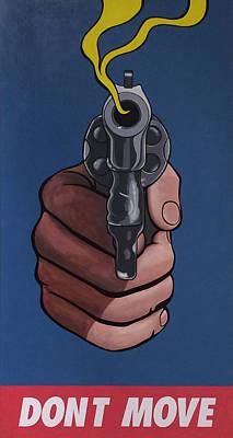 Alejandro Painting - Don T  Move by Alejandro Iturralde Arquiola