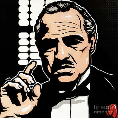 Don Vito Corleone Art Print