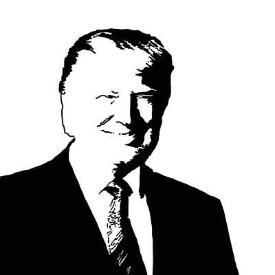 Donald Trump Wall Art - Painting - Donald John Trump by Art Spectrum