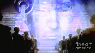 Print featuring the photograph Donald Trump 1984 by Wingsdomain Art and Photography
