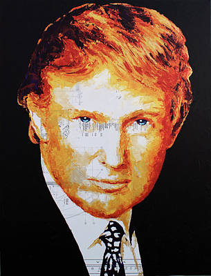 Painting - Donald Trump by HaviArt