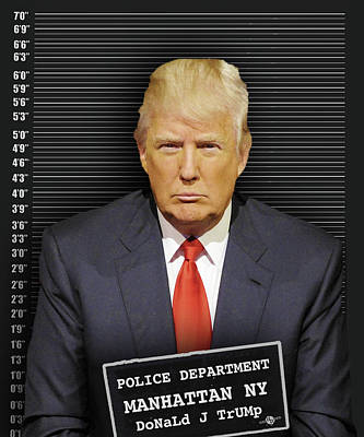 Donald Trump Mugshot Original