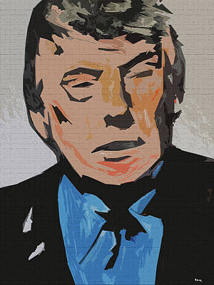 Painting - Donald Trump by Robert Margetts