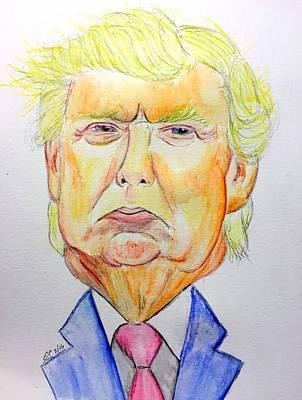 Donald Trump Original by Scott Emerling